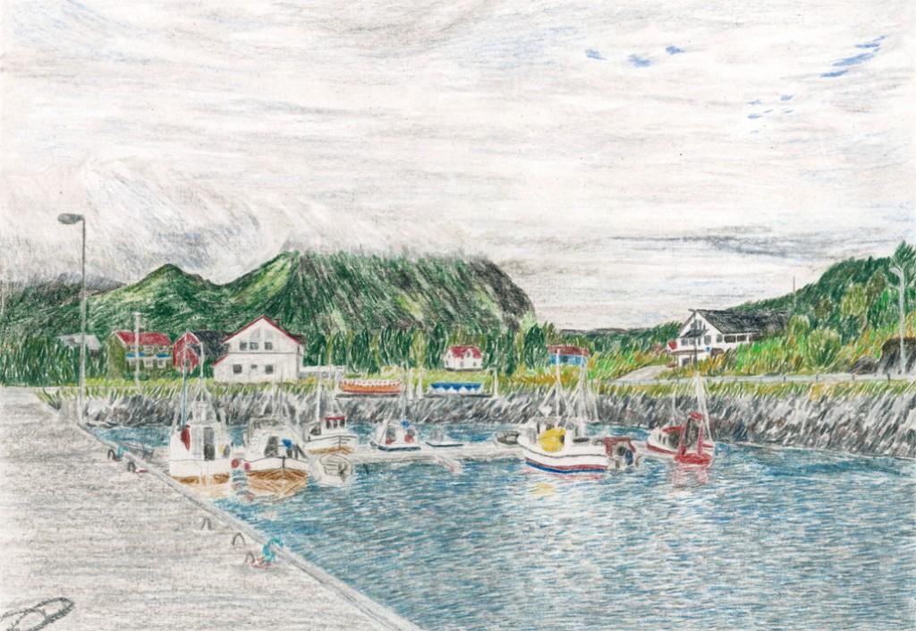 Skutvik, Norwegen